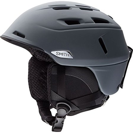 Smith Optics Unisex Adult Camber Snow Sports Helmet - Matte Charcoal Large