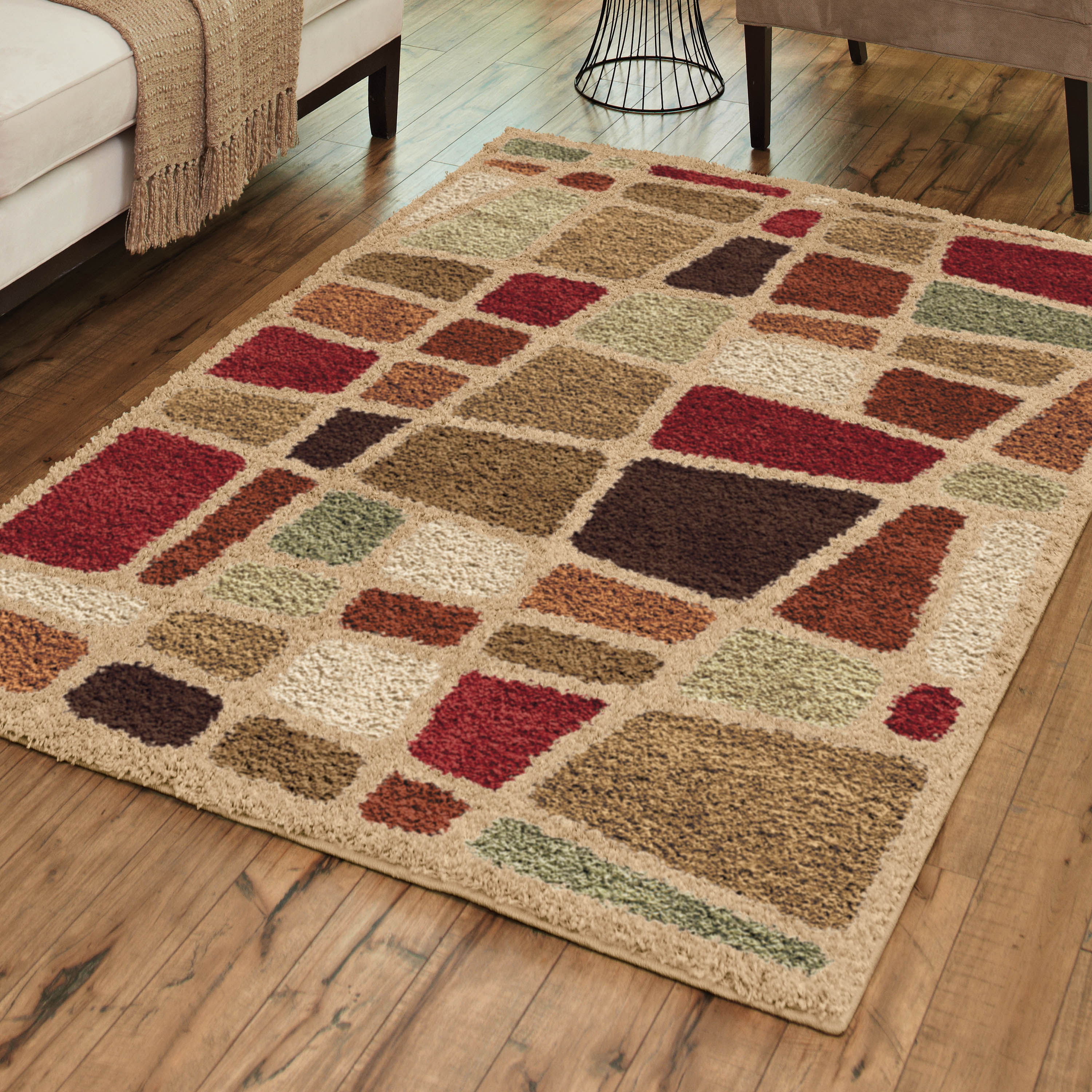 Orian Rugs Streetfair Shag Area Rug or Runner