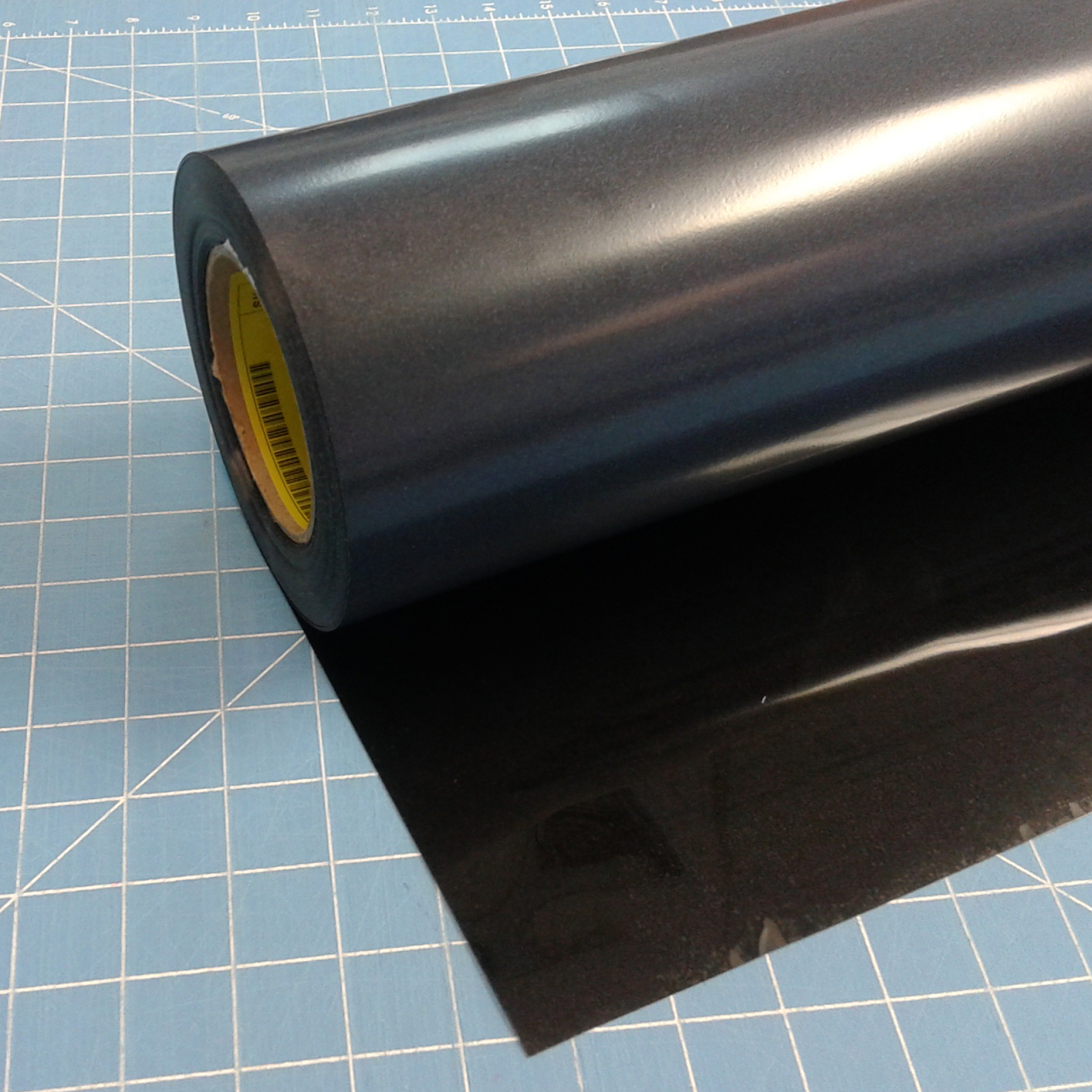 "Siser Easyweed Stretch Black 15"" x 5' Iron on Heat Transfer Vinyl Roll, HTV"