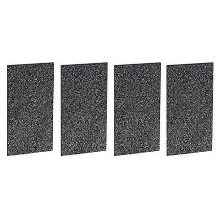 4 Pack Carbon Filter fit Holmes HAP2400, HAP242, HAP412 and Bionaire BAP260 Air Purifiers