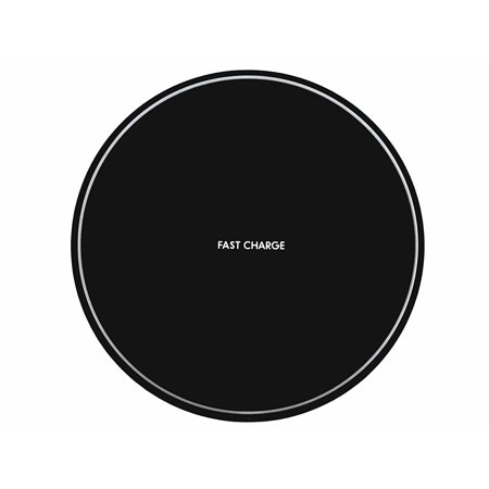 Wireless Charger, QI Wireless Charging Pad for Apple iPhone 8/8 Plus, iPhone X, Samsung Note 8, S8/S8 Plus/S7/S7 Edge/S6, Nexus 7/6/5/4(2013), Nokia Lumia 920, LG Optimus Vu2, Wireless Charger ()