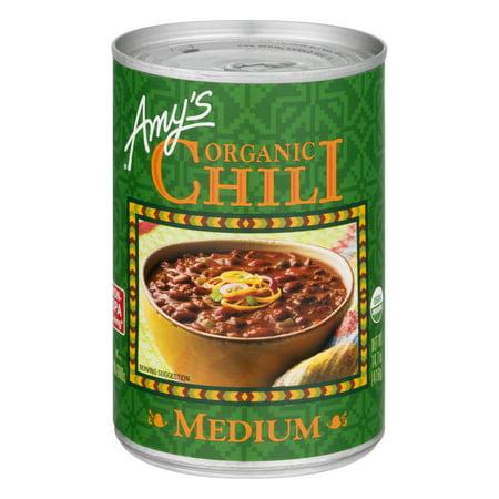 Amys Organic Chili Medium  14 7 Oz