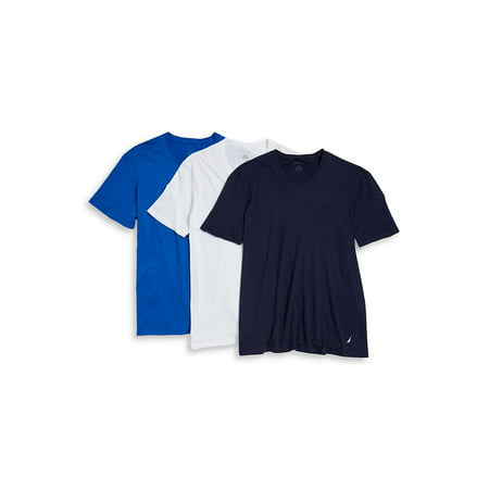 3-Pack Assorted Crewneck Cotton Tee (Nautica L/s Shirt)