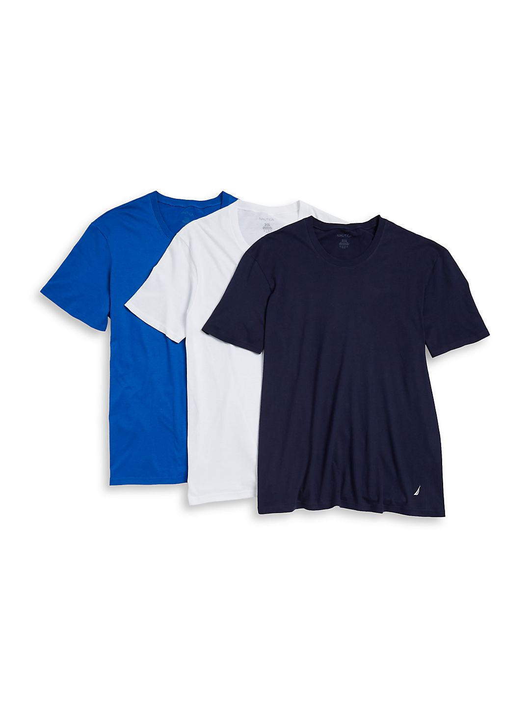 3-Pack Assorted Crewneck Cotton Tee Set