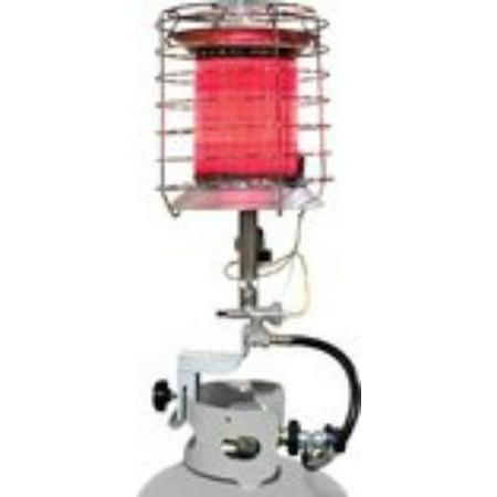 Duraheat Propane  Lp  360 Tank Top Heater   Infrared   Gas   Silver   Portable  Tt360