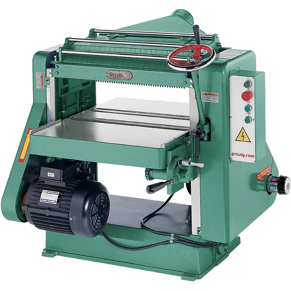"""Grizzly G7213Z 24"""" Planer 7-1/2 HP 3-Phase"""