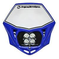 Baja Designs Squadron Sport MC LED Race Light Blue 557001BU