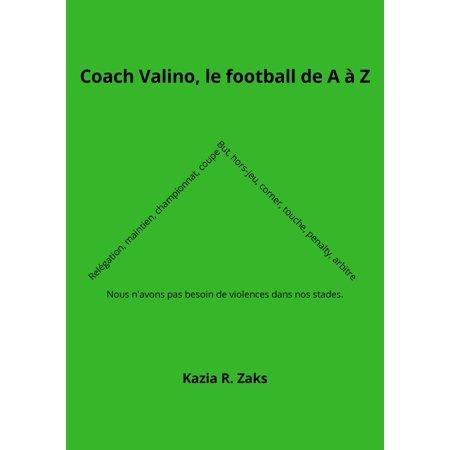Coach Valino, le football de A à Z - eBook](Football Coach Headsets Halloween)