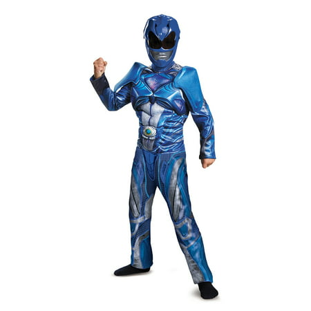 Power Rangers: Blue Ranger Classic Muscle Child (Best 50's Costumes)