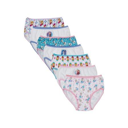 Disney Frozen Girls' Underwear, 7 Pack