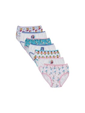Disney Frozen, Girls Underwear, 7 Pack Panties (Little Girls & Big Girls)