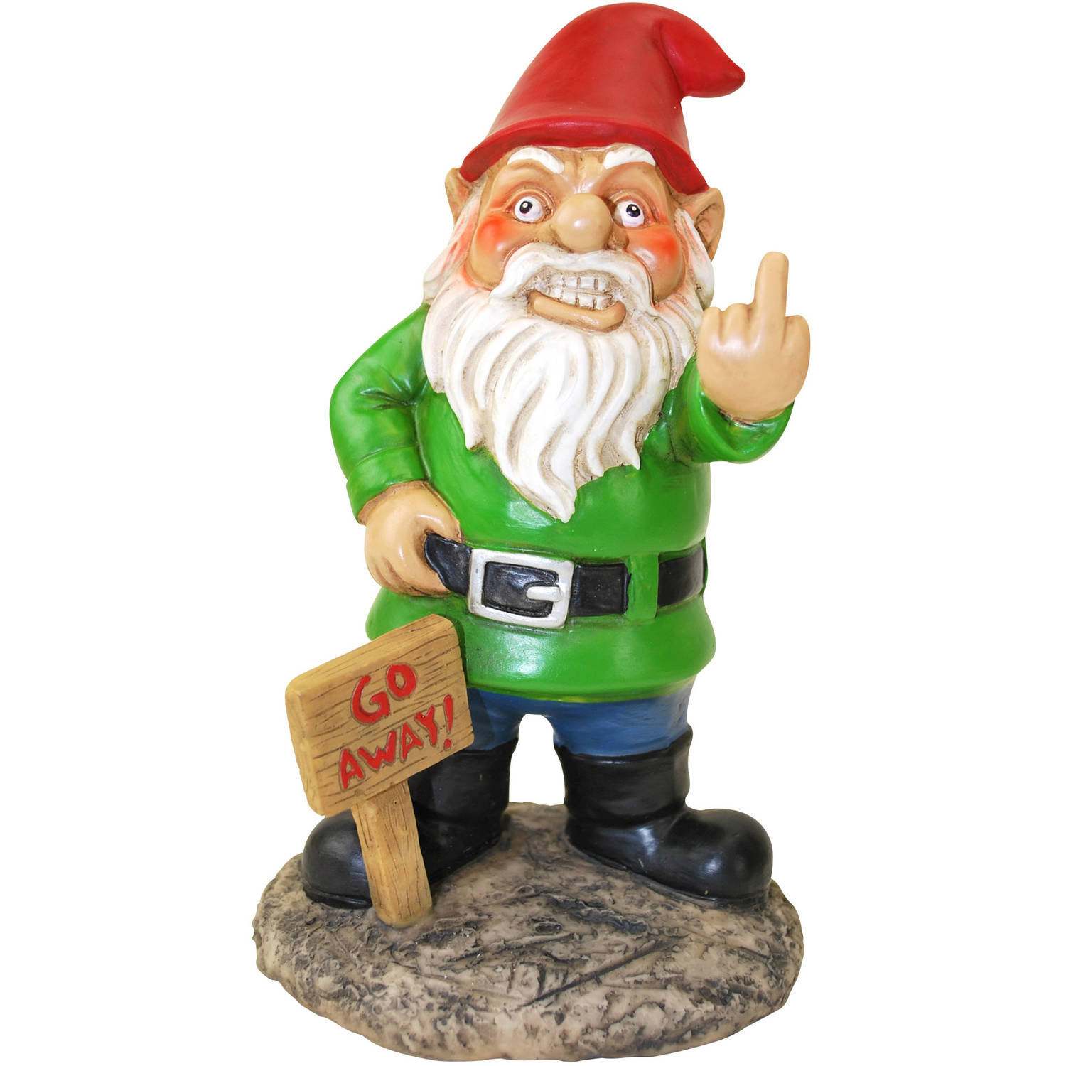 Go Away! Gnome by Generic