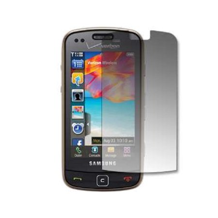 Premium Reusable LCD Screen Protector for Samsung Rogue U960 [Accessory Export Packaging]