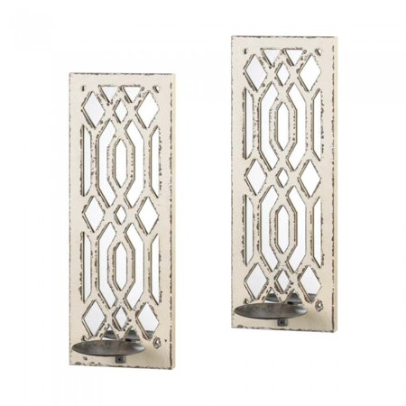 DECO MIRROR WALL SCONCE SET](Deco Wall Sconces)