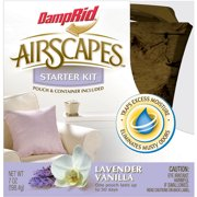 DampRid AirScapes Lavender Vanilla Air Freshener Starter Kit, 2 pc
