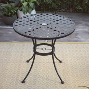 Belham Living Capri Wrought Iron Bistro Patio Dining Table by Woodard