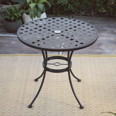 Belham Living Capri Wrought Iron Bistro Patio Dining Table by Woodard