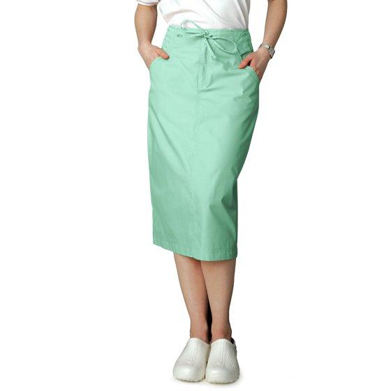 88cc7a18c7 Adar Universal - Adar Universal Mid-Calf Length Drawstring Skirt (Available  is 17 colors) - 707 - Hunter Green - Size 6 - Walmart.com