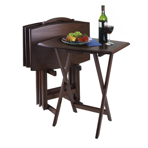 Luxury Home TV Table (Set of 4) by Luxury Home