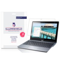 iLLumiShield Screen Protector Anti-Bubble/Print 2x for Acer Chromebook 11 C720P