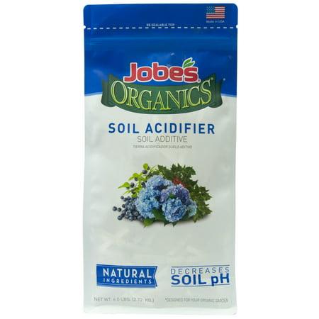 Jobe's Organic 6lbs. Granular Soil Acidifier (Best Organic Soil For Weed)