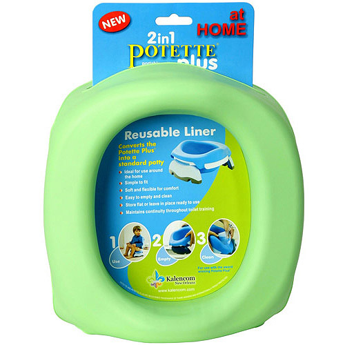 Kalencom Potette Plus 2-in-1 Portable Potty & Training Seat Reusable Liner