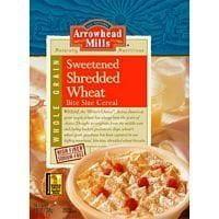 Arrowhead Mills Shredded Wheat Sweetened Cereal (12x13 OZ) ( Value Bulk