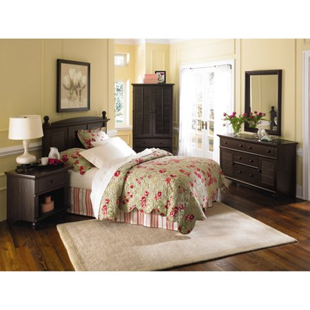 sauder harbor view bedroom furniture collection - walmart