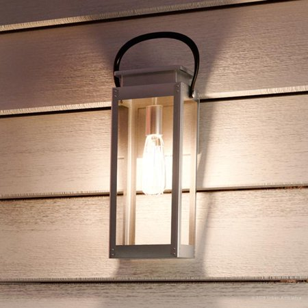Urban Ambiance Luxury Coastal Outdoor Wall Light, Size: 15-7/8