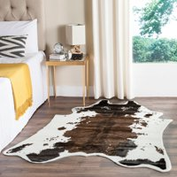 Safavieh Faux Cow Hide Bruce Abstract Area Rug