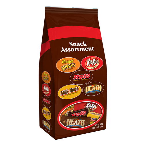 Hershey's Snack Candy Assortment, 39.8 oz