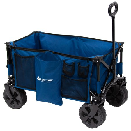 - Ozark Trail All-Terrain Wagon with Oversized Wheels, Blue