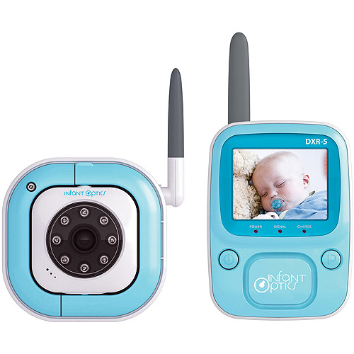 Infant Optics DXR-5, Video Baby Monitor, Night Vision