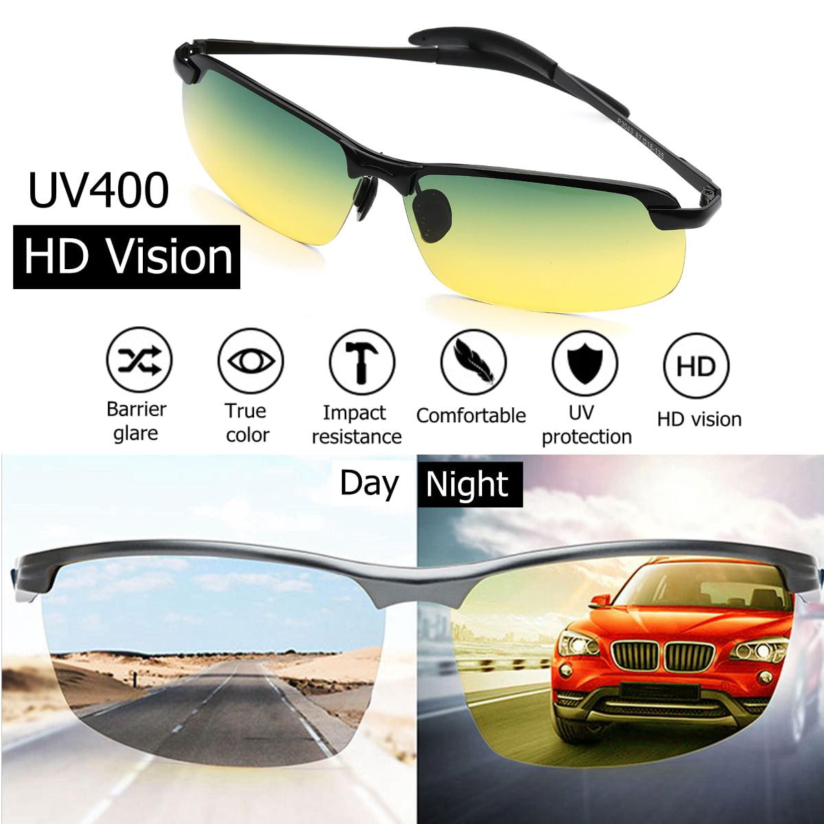 LE Men Outdoor Sports Riding Polarized Sunglasses Anti-glare Driving Sunglasses
