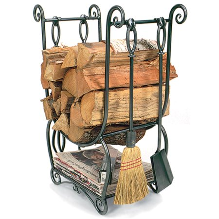 Achla Designs Country Firewood Holder with Tools ()
