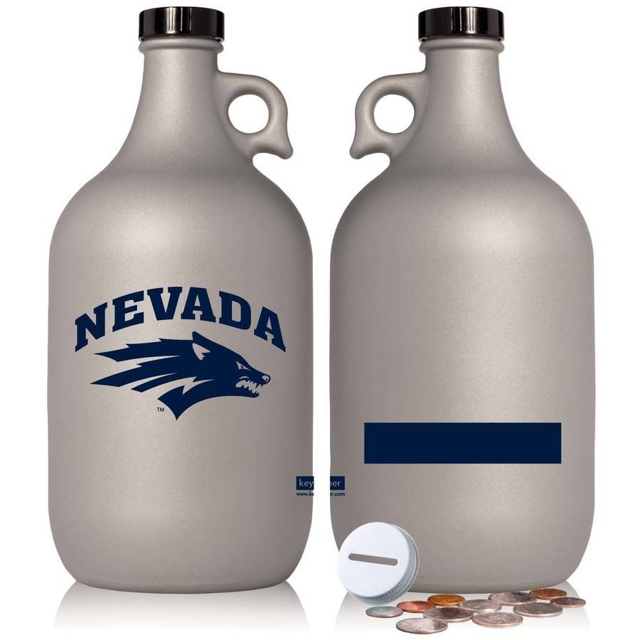 NCAA Nevada Wolf Pack 64 oz Team Color Frost Jug