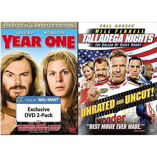 Year One (Unrated) / Talladega Nights: The Ballad Of Ricky Bobby (Unrated) (2-Pack) (Exclusive) (Full Frame, Widescreen)