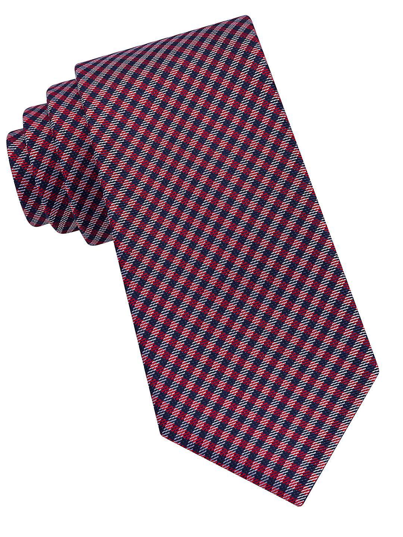 Boy's Bayard Micro Check Tie