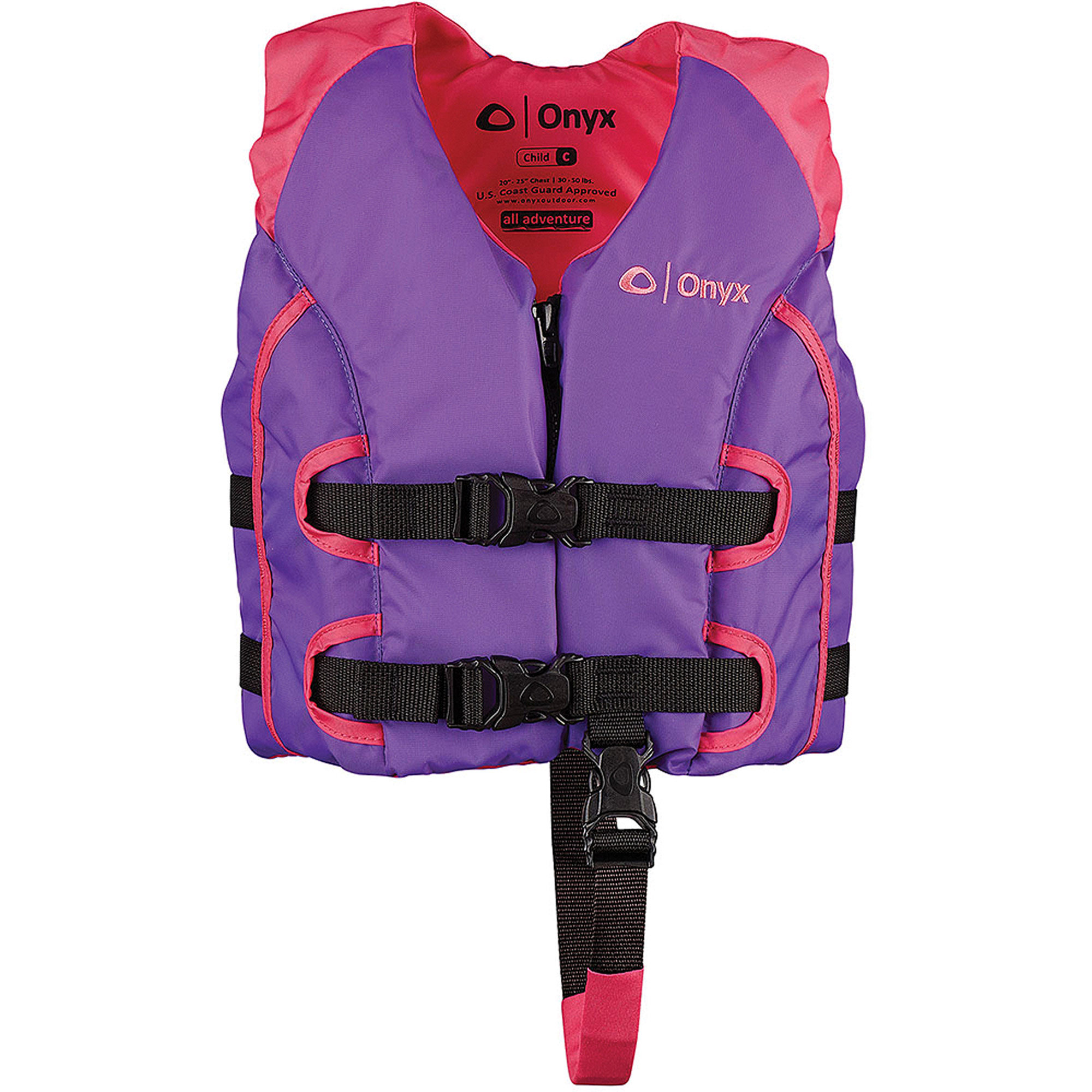 Onyx All Adventure Child Vest Pink Purple by Onyx Outdoor