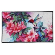 Momentum Mats Hummingbird Design Indoor Mat