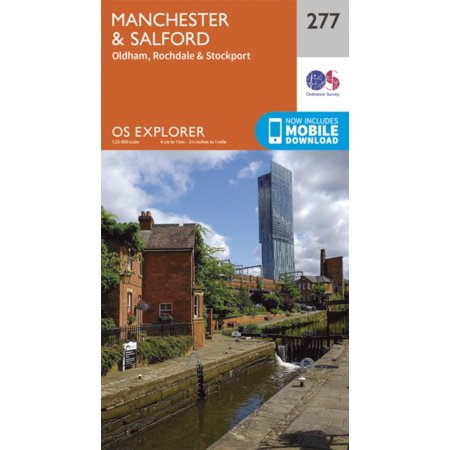 - OS Explorer Map (277) Manchester and Salford (Map)