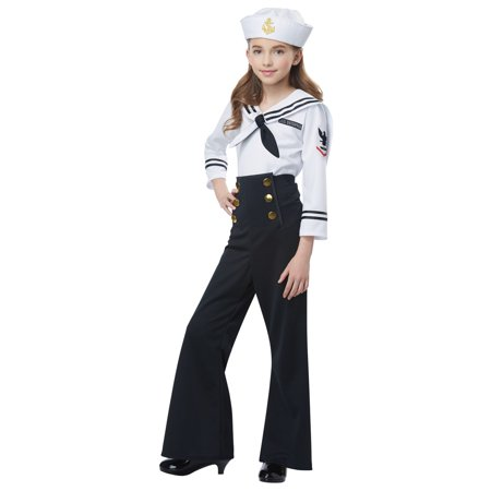 Navy / Sailor Girl's Costume - Sailor Halloween Costumes