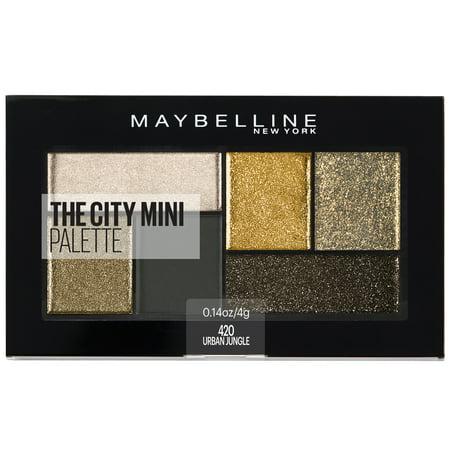 Maybelline The City Mini Eyeshadow Palette Makeup, Urban Jungle, 0.14