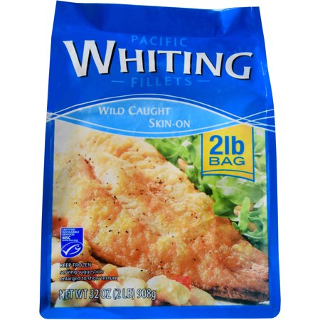 Frozen whiting fillet 2lb for Whiting fish at walmart