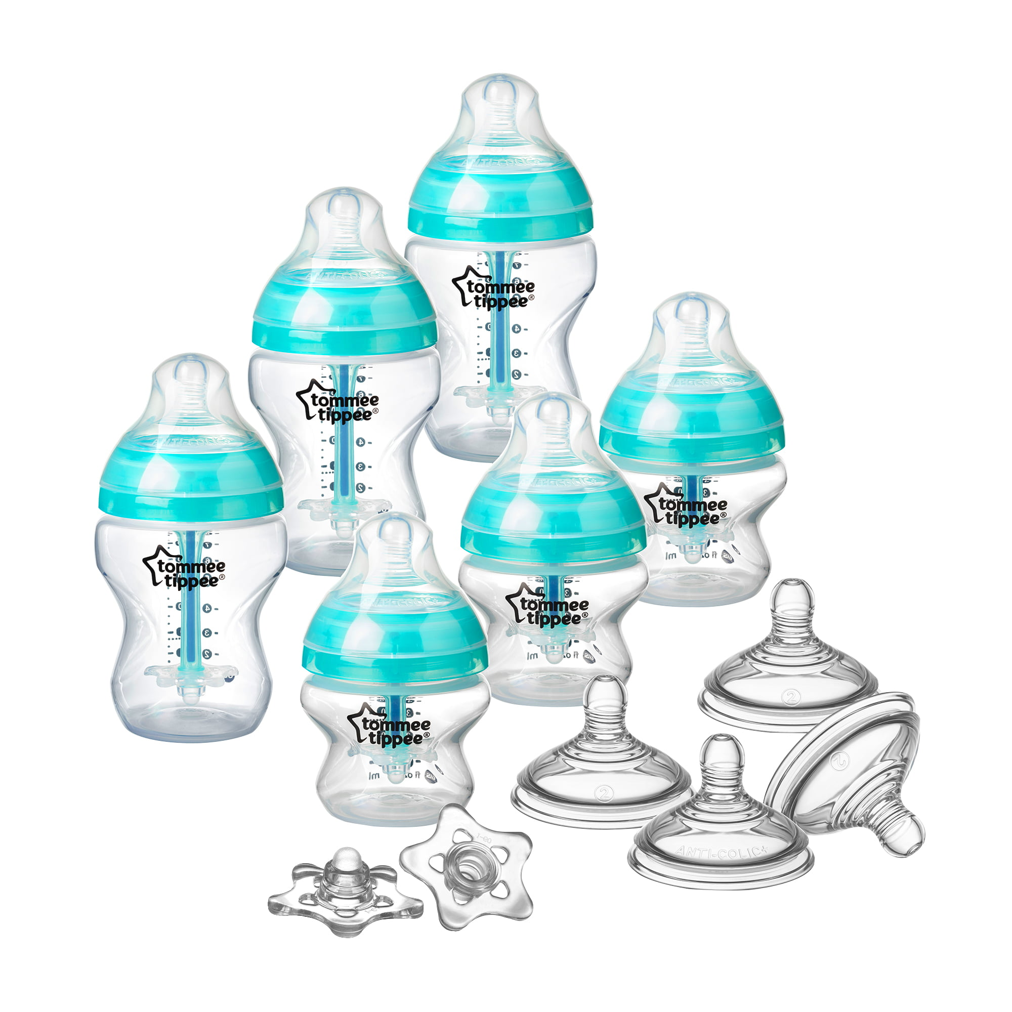Tommee Tippee Advanced Anti-Colic Newborn Baby Bottle Set by Tommee Tippee