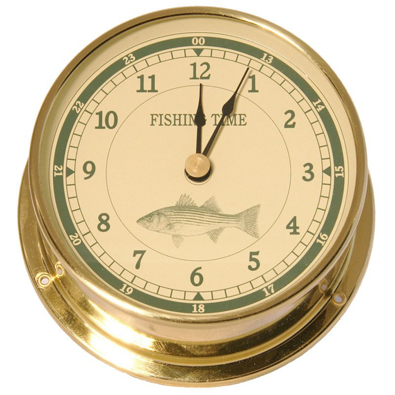 Downeaster Fishing Series Clock
