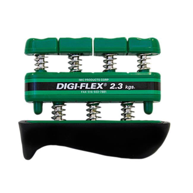 Cando Digi-Flex Hand Exerciser - Green, Medium - Finger