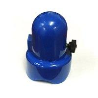 SkyBound 1.5-Inch Diameter Blue Trampoline Enclosure Pole Caps