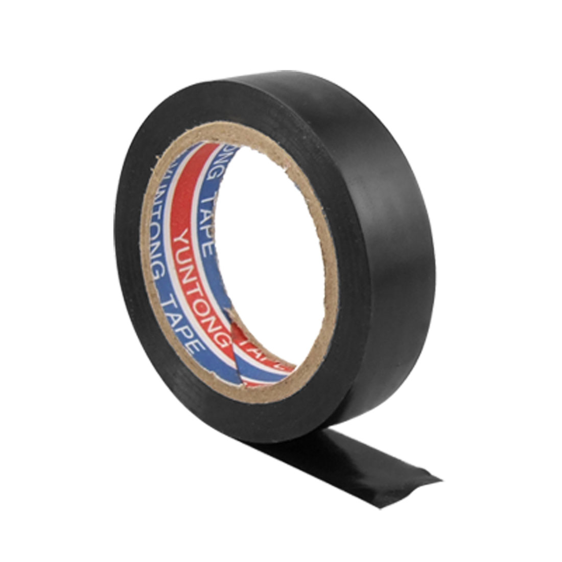 Electrician Black PVC Plastic Adhesive Insulation Tape