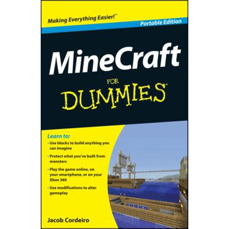 Minecraft For Dummies  Portable Edition